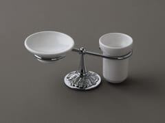 Portasapone / portaspazzolino in ceramicaDECOR | Portasapone - BLEU PROVENCE
