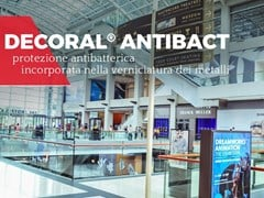 Decoral® GROUP, DECORAL ANTIBACT Protezione antibatterica per la verniciatura dei metalli