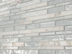 Rivestimento in pietra e vetro per interni DECORATIVE HORIZON -