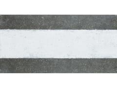 Decori da rivestimento e da pavimentoDECORAZIONE ONE WAY LINE GRAPHITE - ABK GROUP INDUSTRIE CERAMICHE