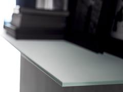 Mensola in vetro satinato DECORFLOU® CLASSIC -