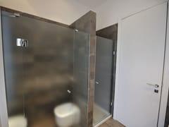 Box doccia a nicchia con porta a battente DECORFLOU® CLASSIC -