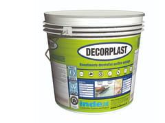 Rivestimento decorativo acrilico antialgaDECORPLAST 1.6 - INDEX