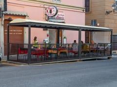 Paravento per dehors in acciaioDEHORS EXPRESS - SELVOLINA