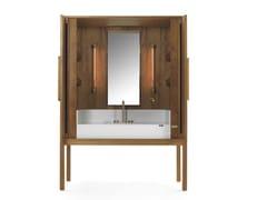 Mobile lavabo in legno Kauri con anteDEKAURI | Mobile lavabo in legno Kauri - RIVA 1920