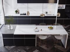Rivestimento per mobili effetto marmoDEKTON® OLIMPO - COSENTINO