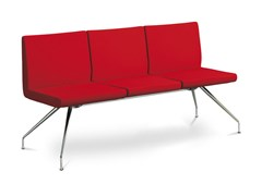 Panca in tessuto con schienaleDELTA DE-K3-N4 - LD SEATING