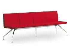 Panca in tessuto con schienaleDELTA DE-K4-N4 - LD SEATING