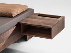 Comodino sospeso in legno masselloDEPO - ZEITRAUM