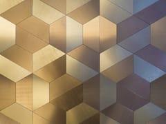 Lastra in alluminio Dvne® per rivestimentiDESIGN TRAPEZIO - DVNE MILANO