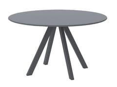 Tavolo da giardino rotondo in metalloDAISY   Tavolo in metallo - VERMOBIL