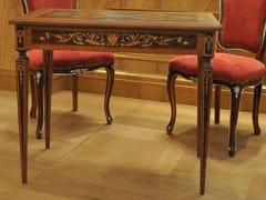 Scrivania rettangolare in legno con cassettiDESK - ARNABOLDI INTERIORS