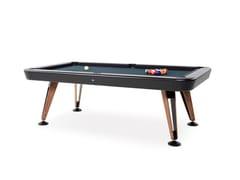 Tavolo da biliardo per interni in acciaio e legnoDIAGONAL INDOOR | Tavolo da biliardo - RS BARCELONA