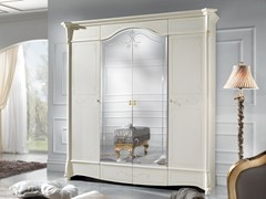 Armadio in legno con specchioDIAMANTE | Armadio con specchio - LINEA & CASA +39