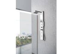 Colonna doccia a parete con doccettaDIAMANTE - WEISS-STERN