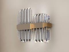 Applique a LED in Cristallo al piomboDIAMANTE | Applique - PATRIZIA VOLPATO