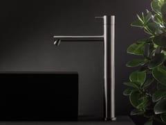 Miscelatore per lavabo monoforo in acciaio inox DIAMETRO35 INOX | Miscelatore per lavabo monocomando - Diametro35 Inox