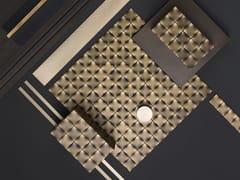 DE CASTELLI, DIAMOND 30 Mosaico in metallo