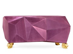 Madia laccata in legno con ante a battente DIAMOND AMETHYST - BOCA DO LOBO