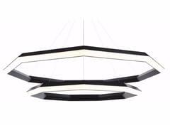Lampada a sospensione a LED a luce diretta con dimmer DIAMOND LUXENNEA -