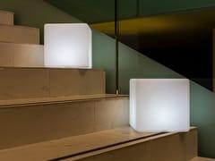 Lampada da terra per esterno a LED in plastica senza filiDICE - SMART AND GREEN