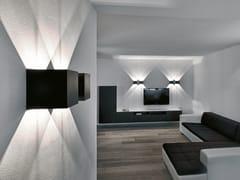 Lampada da parete a LED a luce diretta e indirettaDICE WALL - PROLICHT