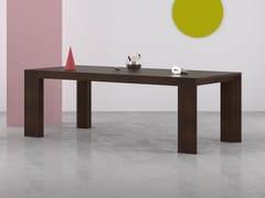 Tavolo allungabile rettangolare in legnoDIMERO | Tavolo rettangolare - PIEMY GROUP