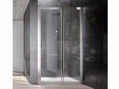 Box doccia a nicchia in cristallo con porta scorrevoleDIP | Box doccia a nicchia - KAROL ITALIA