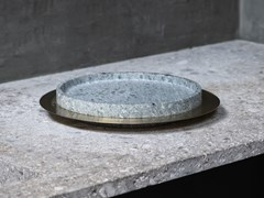 Centrotavola in pietra naturaleDISCO - GARDECO