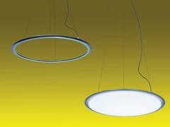 Lampada a sospensione a LED a luce diretta e indiretta in alluminio DISCOVERY | Lampada a sospensione - Discovery