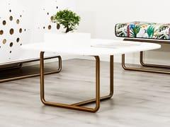 Tavolino quadrato in Corian®DISTINCT   Tavolino - AMA DESIGN