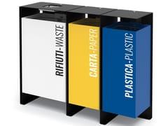 City Design, DIVISION | Portarifiuti per raccolta differenziata  Portarifiuti per raccolta differenziata