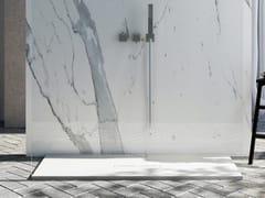 Piatto doccia antiscivolo rettangolare in Luxolid®DIVO SOLID - RELAX DESIGN