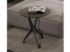 Tavolino da caffè in ceramica effetto MarmoDNA XS - OZZIO ITALIA