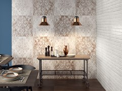 Pannello decorativo per parete DO UP MEMORY Rust - ABK GROUP INDUSTRIE CERAMICHE