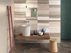 Pannello decorativo per parete DO UP REVERSE Earth - ABK GROUP INDUSTRIE CERAMICHE