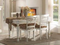 Tavolo allungabile in legno massello DOGI | Tavolo laccato - Dogi