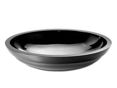 Lavabo da incasso soprapiano ovale in resina DOLCE OVAL - DOLCE