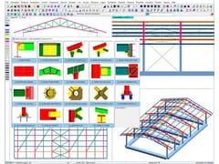 Calcolo e progettazione strutture in acciaioDOLMEN ACCIAIO - CDM DOLMEN