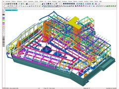Software per analisi delle sollecitazioni ad elementi finiti DOLMEN FEM E 3D -