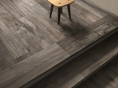 Listone in gres porcellanato a massa colorata DOLPHIN Grey - ABK GROUP INDUSTRIE CERAMICHE