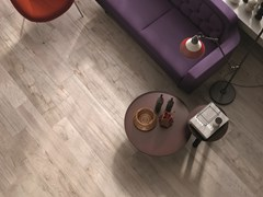 Listone in gres porcellanato a massa colorata DOLPHIN Milk - ABK GROUP INDUSTRIE CERAMICHE