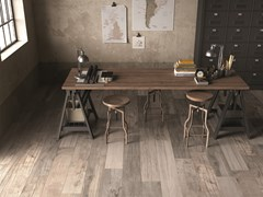 Listone in gres porcellanato a massa colorata DOLPHIN Moon - ABK GROUP INDUSTRIE CERAMICHE