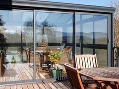 DOMAL, DOMAL VERANDA Veranda in alluminio e vetro