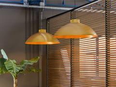 Lampada a sospensione a LED in acciaio inox e alluminioDOME LIGHT - HEATSAIL