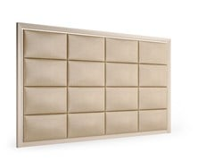 Testiera alta imbottita in legno in stile moderno per hotelDOMINO | Testiera imbottita - CAROTI & CO.