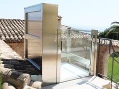 Piattaforma elevatrice aperta per interni ed esterniDOMOFLEX OPEN OUTDOOR - AREALIFT