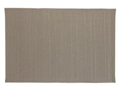 Tappeto a tinta unita rettangolare in tessutoDOMUS | Tappeto rettangolare - VERMOBIL