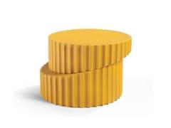 Tavolino rotondo in ceramicaDORIC - ROCHE BOBOIS