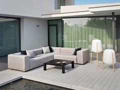 Divano modulare da giardino in Silvertex DORM | Divano da giardino angolare - Dorm